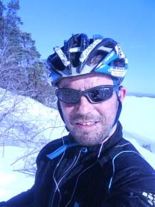"""Årets første """"vår""""sykkeltur"""