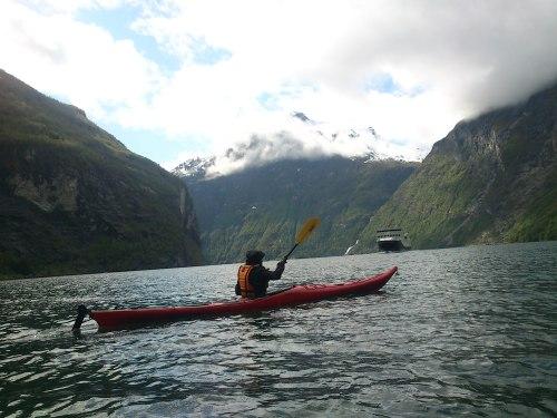Birgitte og Geirangerfjorden