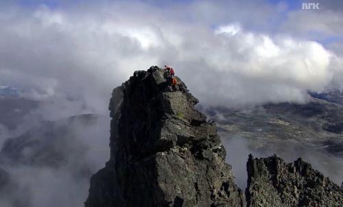 Toppen av Romsdalshorn