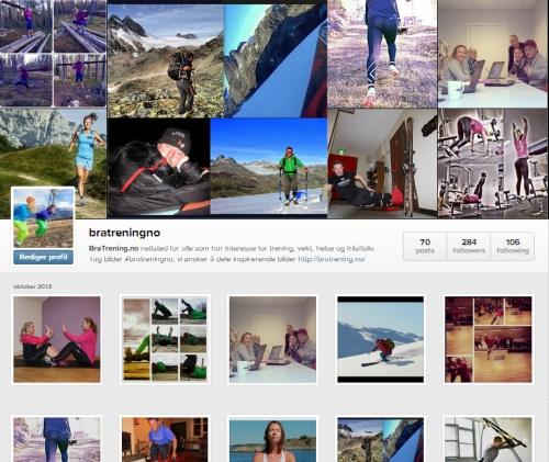 @bratreningno Hastag dine bilder med #bratreningno