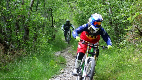 Herlig sykkeldag med Ole Henrik, Karie anne (fremst) Jørgen bakerst